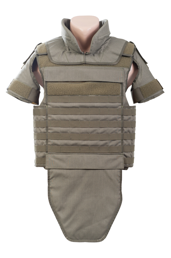 Body Armour and Security in the Middle East