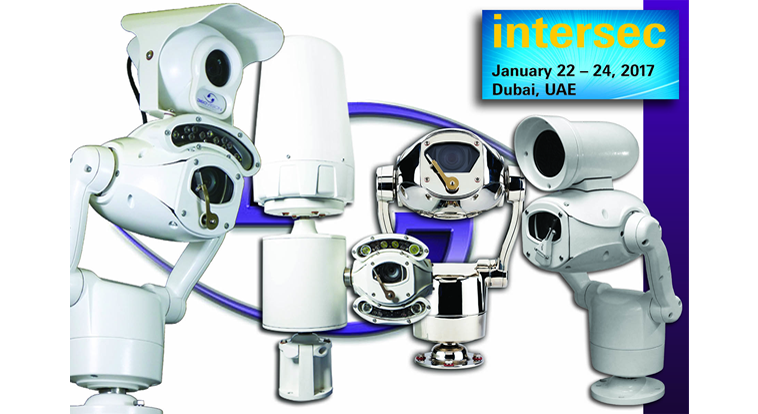 360 Vision show cameras for every application at Intersec 2017