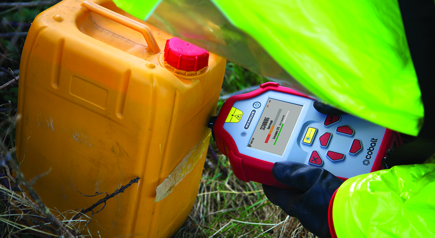 Cobalt's Resolve enables through-barrier chemical ID for improved safety