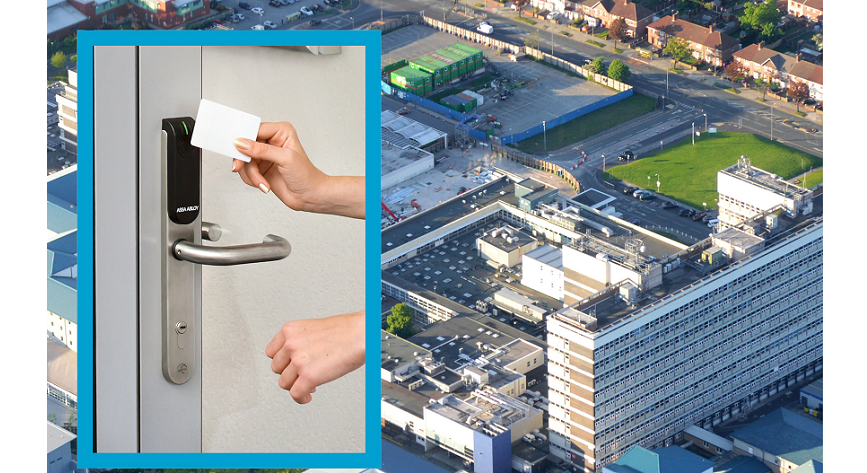 ASSA ABLOY delivers flexible access control with Aperio at Aintree hospital