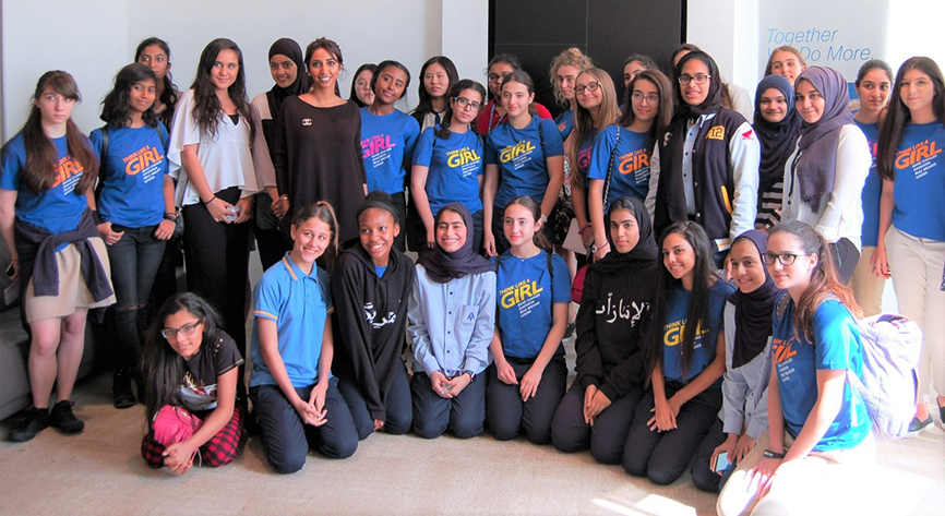Cisco encourages female students to pursue careers in technology